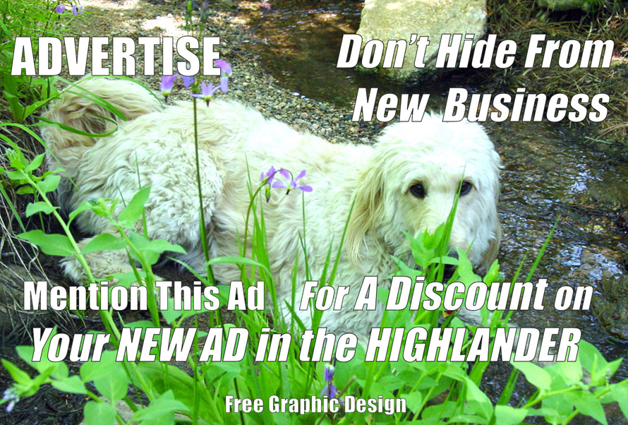 Advertise with the Highlander Monthly